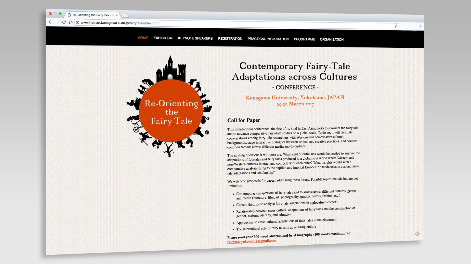 Kanagawa University - Re-Orienting the Fairy Tale