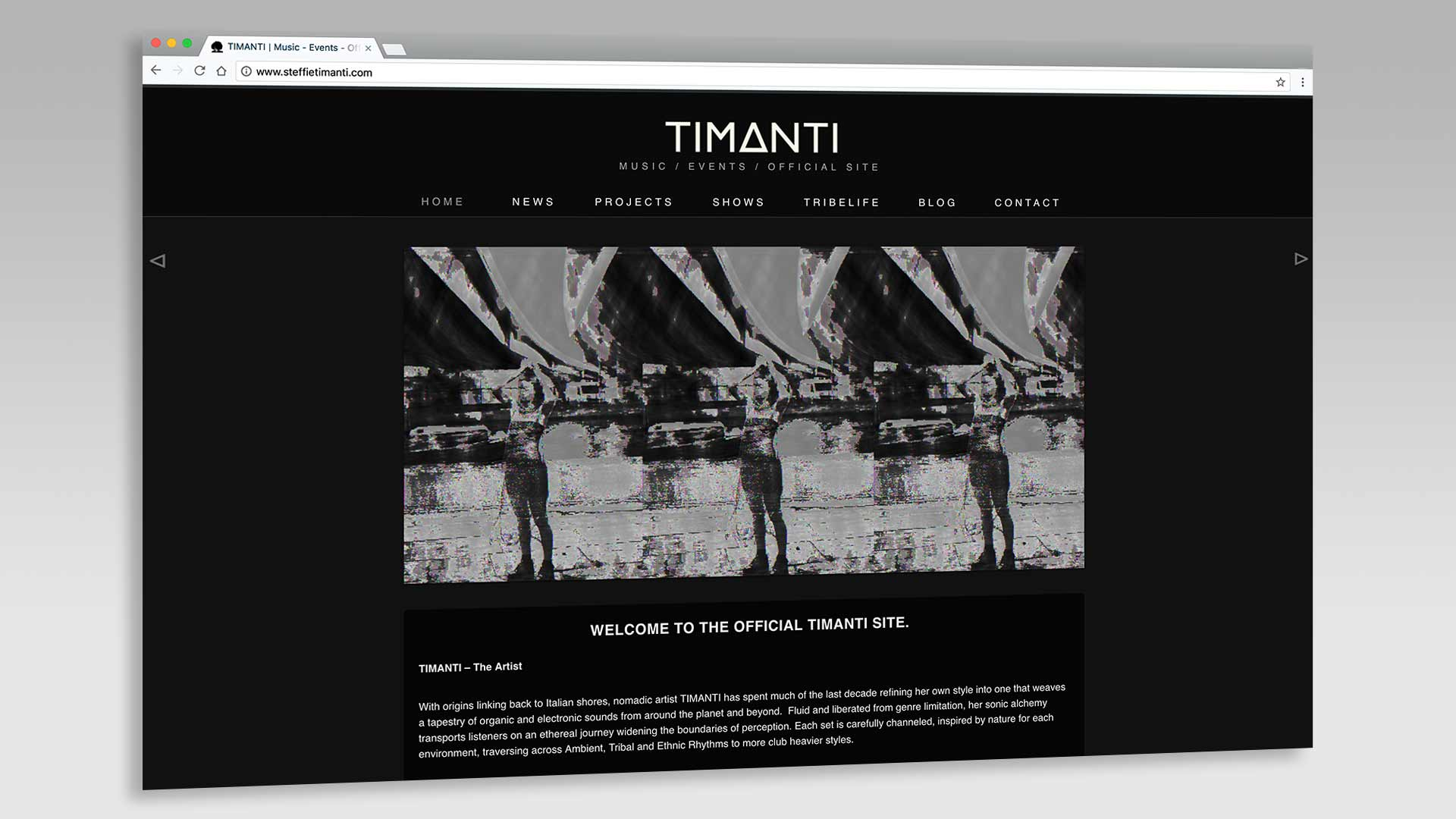 Timanti Home Page