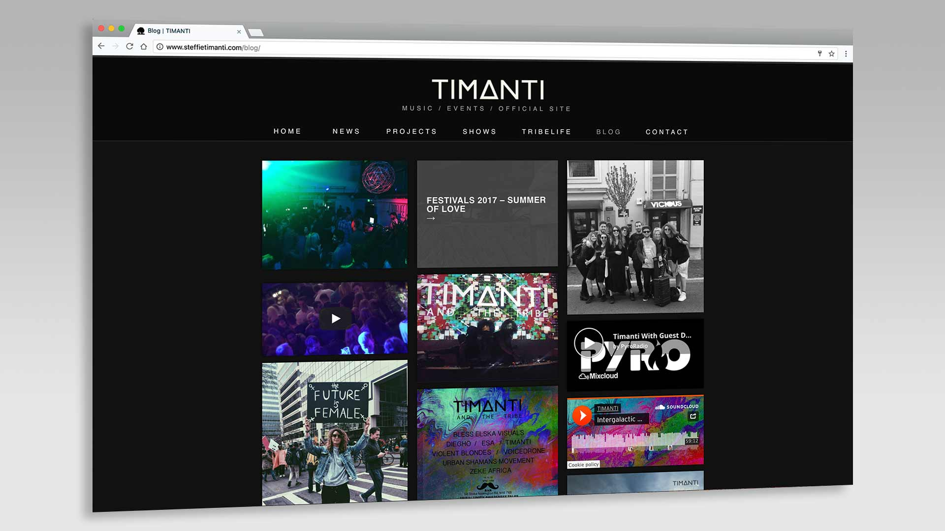 Timanti Blog Page Title Overlay